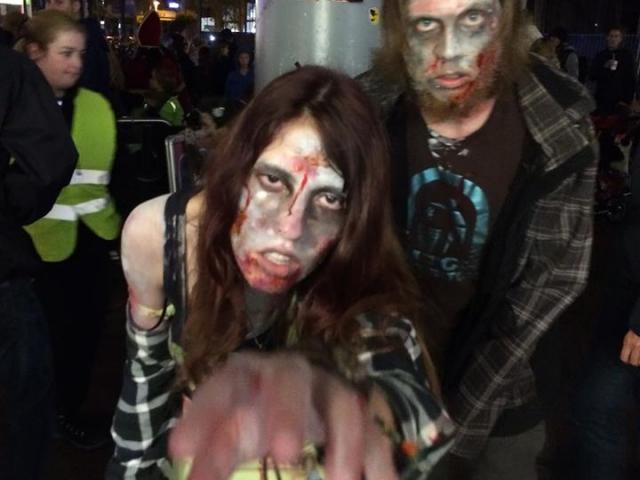 Zombiewalk arnhem 2015