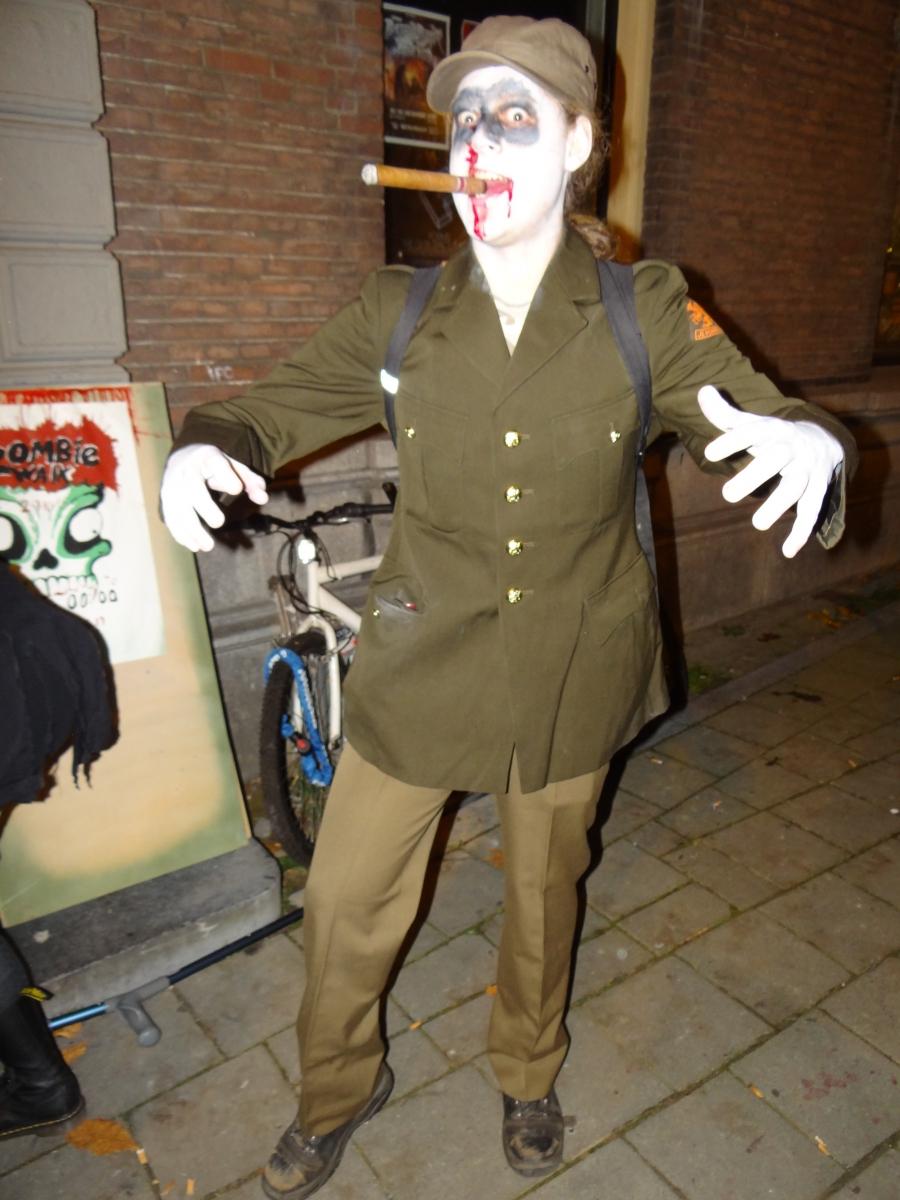 Rins de Vries Zombiewalk arnhem