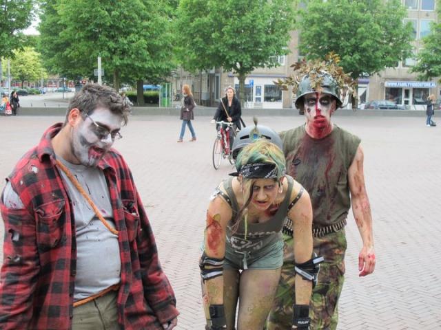 Zombiewalk arnhem 2011